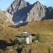 nach dem Abstieg vom Gipfel wieder auf der Zaferafurka zurück<br />dahinter der Zitterklapfen
