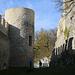 Der Innenraum des Zwingers der Ruine Pfeffingen.