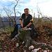 Auf dem höchsten Punkt der Eggflue (686,3m) machten wir unser Mittagspcknick bei herllichem Herbstwetter und toller Aussicht.