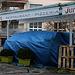 Schade und wohl ein Opfer der Coronakrise. Die Pizzeria Jura mit grossem Festsaal in Aesch hat die Schotten dicht gemacht.