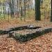 IV. Lichtloch, Fundament des etwas abseits stehenden Pulverturmes