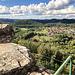 "Blick zum benachbarten Örtchen mit dem schönen Namen ""Busenberg"" :o)"