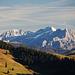 Zoom zu den Loferer Steinbergen