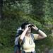 Helene beim Spiegeln, sie entdeckt fast alle Tiere
