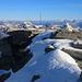 Piz Timun / Pizzo d'Emet (3212m): Die letzten Schritte zum Gipfel.
