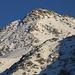 In den späteren Nachmittagsstunden zeigte sich der Piz Timun / Pizzo d'Emet (3212m) nochmals in schönstem Abendlicht der tiefstehenden Sonne.