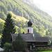L'église de Weisstannen, au début de l'étape