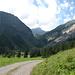 Montée vers la vallée du Foobach