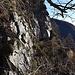 ambiente roccioso con pareti incombenti