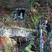 Die Lourdesgrotte bei Laupersdorf.