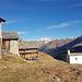 Der schneefreie Weiler Frunt auf fast 2000m Höhe