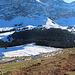 Blick zum Langälpli. Hier musste ich runter. Die Schneeschuhroute von der Schwägalp zum Kronberg führt hier durch