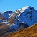 Mein Biwakplatz bot einen wunderschönen Blick auf den Piz Beverin (2997,5m).