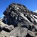 Der letzte Abstieg vor dem Col de Louvie. Es gibt bis zum Ende immer wieder solch steile Stellen.