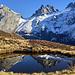 Ein kleiner See auf dem Eggengrat hinter der Fürenalp