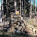 Am Hochrieskopf ist der Steinmann sehenswerter als die Aussicht