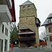 Der Pulverturm von Zofingen, auch dieser besteht aus Sandstein.