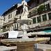 Piazza delle Erbe, fontana Madonna Verone.