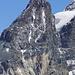 in primo piano la Cresta Guzza m.3854, visto dalla vetta Sassa D'entova.