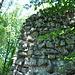 Mauerwerk Ruine Besserstein.