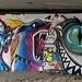 Kunst unter der Autobahn...