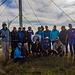 Gemeinsames Gruppenbild auf der 590m hohen maja e Shnelit