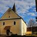Kirche im Ortszentrum von Herten (279m).