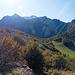Der Grat über den Pizzo del Cich ist über weite Strecken bewaldet