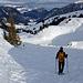Auf dem Abstieg, Richtung Alp Grimmi.