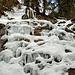 Ein faszinierender Wasserfall unterhalb der Alp Grimmi.