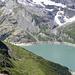 Lac d'Emosson kommt hervor