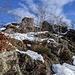 Le prime rocce della cresta