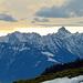 Blick von der Neuenalp in die Vorarlberger Alpen, - mit Zimba