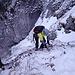 Kurzes Intermezzo am Klettersteig