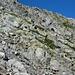 Abstieg vom Sasso Lanzone auf dem Steinbockweg