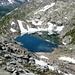 Lei d'Uffiern 2587m vom Pass d'Uffiern her gesehen