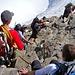 Abstieg vom Piz Bernina