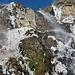 La cascata si sta ghiacciando.