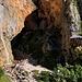 """Im Aufstieg zwischen Logarska dolina und Okrešlj - Blick zum """"unteren Teil"""" des Slap Rinka. Momentan ist es am Rinka-Wasserfall """"einsam"""", grundsätzlich ist dieser aber ein sehr beliebtes Ausflugsziel."""