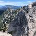 Ledinski vrh - Blick zum benachbarten, etwa gleich hohen Storžek / Vellacher Turm.