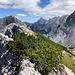 Ledinski vrh - Ausblick über den Gipfel hinweg in etwa östliche Richtung.