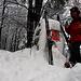 Fotos der Tour vom 15.1.2021:<br /><br />Hinteri Egg (1169m): Diesmal ging es sogar mit Ski bis auf den höchsten Punkt vom Baselbiet hinauf! Prost zämme :-)<br />