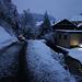 Fotos der Tour vom 15.1.2021:<br /><br />Über den Schlittelweg konnte ich herrlich bis nahe der Talstation der Wasserfallenbahn abfahren, genial! Pünklich zur einbrechenden Nacht war ich also wieder im Tal im Dorf Reigoldswil (509m).<br /><br />