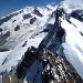 Schöne Kletterei am Breithorngrat