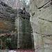 Blick in die Felsenklause oberhalb von Schöftland.