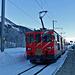 Mit der Matterhorn-Gotthard Bahn gelangt man elegant von Realp nach Geschinen.