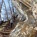 Beim Felsenweg oberhalb vom Kluserguet.