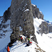 Im Alpler Tor: Für einmal ein Pass statt ein Gipfel.