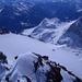 Abstieg auf dem SE-Grat des Piz Cambrena mit Blick ins Puschlav