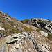 Sentier au-dessous de Loch  (vue arrière).